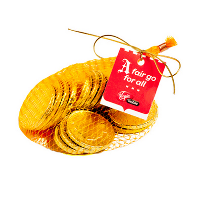 Picture of Chocolate Coins 80g - Unbranded