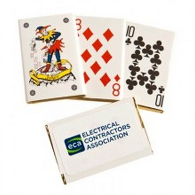 Picture of Chocolate Playing Cards Bulk sticker