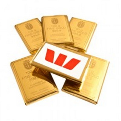 Picture of CHOCOLATE GOLD BULLION BULK Unbranded