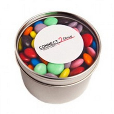 Picture of 2x 50g Corporate Coloured Choc Beans Sti