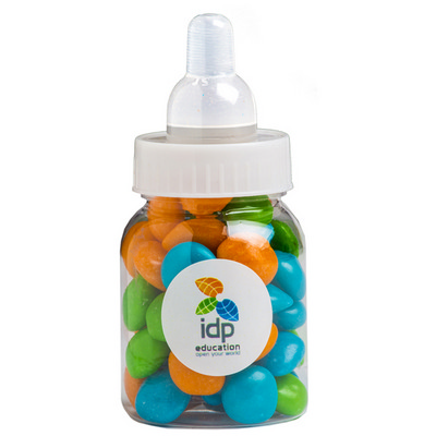 Picture of Baby Bottle Filled with Chewy Fruit