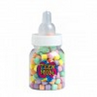 Picture of Baby Bottle Filled with Rainbows