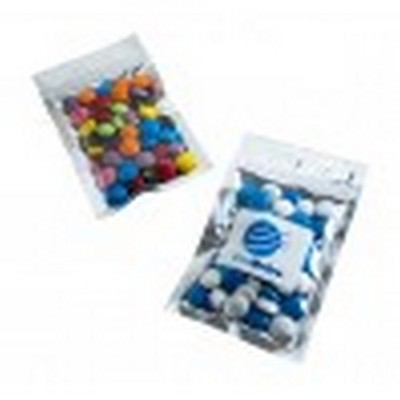 Picture of Silver Zip Lock Bag with Choc Beans 50g