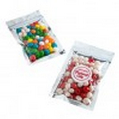 Picture of Silver Zip Lock Bag with Chewy Fruits 50g