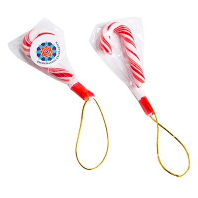 Picture of 4g Candy Canes 5cm Sticker