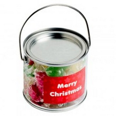 Picture of Medium PVC Bucket filled with Christmas