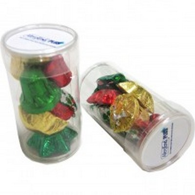 Picture of PET Tube filled with CHRISTMAS Chocolate