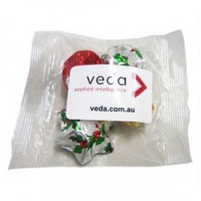 Picture of Cello Bag filled with Christmas Chocolat