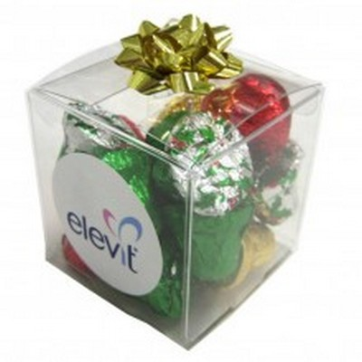 Picture of Cube filled with Christmas Chocolates 60g