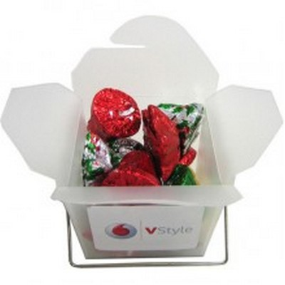 Picture of Frosted Noodle Box with Christmas Chocol