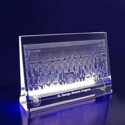 Picture of 2D Photo Horizontal Crystal Award / Gift