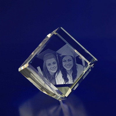 Picture of 3D Crystal Diamond award / gift
