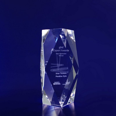 Picture of 3D Crystal Rectangle Special Bevel award