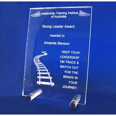 Picture of 3D Crystal Studio plaque / trophy