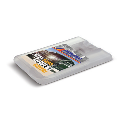 Picture of Hand Sanitiser Card