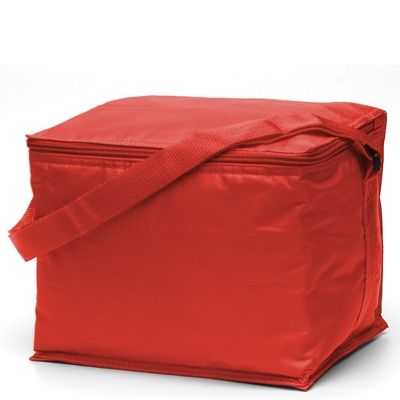 Picture of Basic 6 Pack Cooler Red