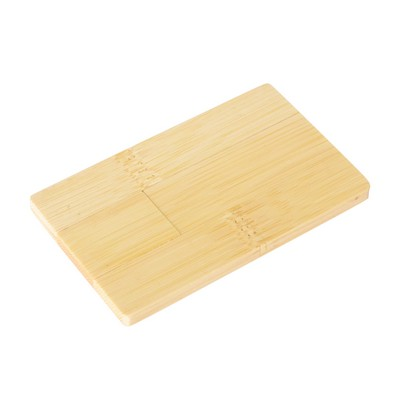 Picture of Wooden Credit Card Flash Drive