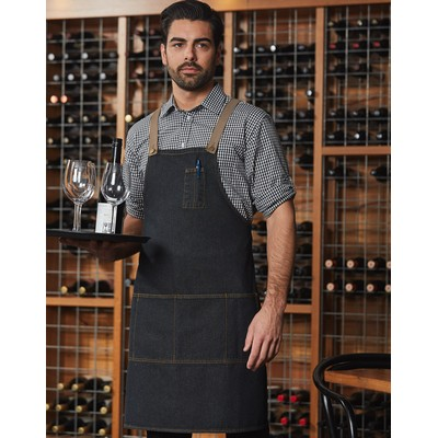 Picture of East Village Denim Bib Apron