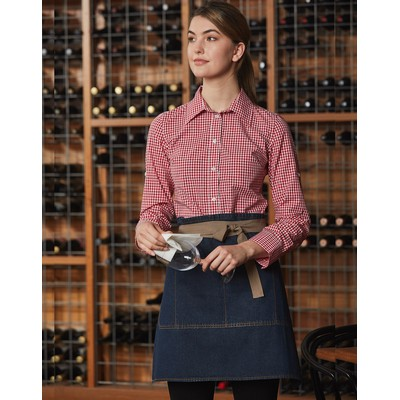 Picture of East Village Half Denim Apron-Unisex
