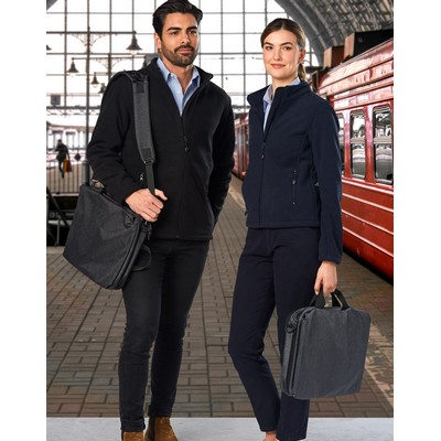 Picture of Leyton Utility Heather Laptop Bag