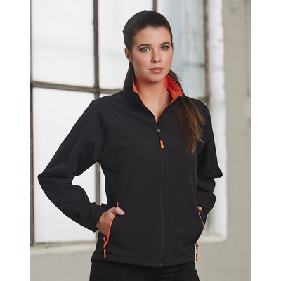 Picture of Ladies Rosewall Soft Shell Sports Jacket