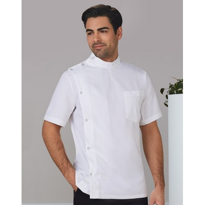 Picture of MenS Stud Front Short Sleeve Jacket
