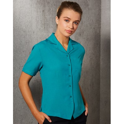 Picture of Women Cooldry Short Sleeve Overblouse