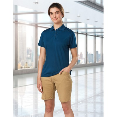 Picture of Ladies Stretch Slimfit Boston Chino Shor