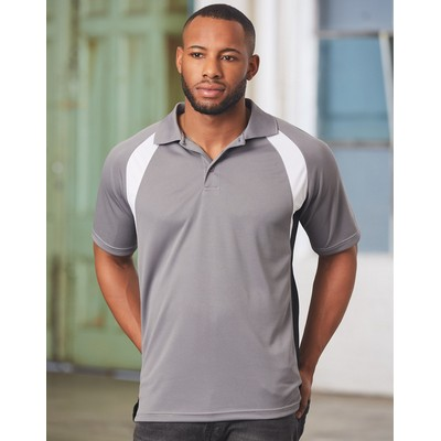 Picture of Mens Tri Sport Polo