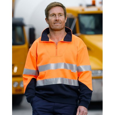 Picture of Hi-Vis Long Sleeve Fleece Sweat