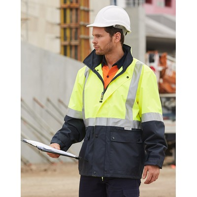 Picture of Hi-Vis Safety Jacket With Mesh Lining &