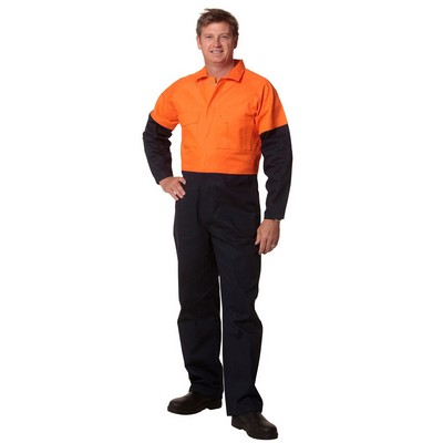 Picture of Mens Two Tone Coverall Regular Size