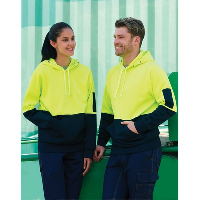 Picture of Hi-Vis Two Tone Fleecy Hoodie Unisex