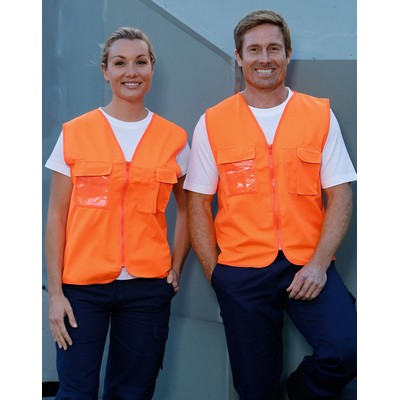 Picture of Hi-Vis Safety Vest With Id Pocket