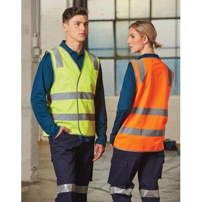 Picture of Safety Vest With Shoulder Tapes