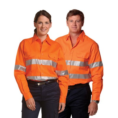 Picture of Cotton Drill Safety Shirt - Unisex