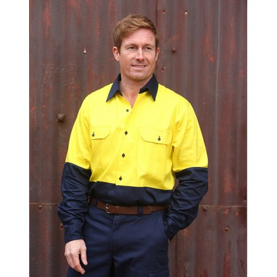 Picture of Cotton Drill Safety Shirt