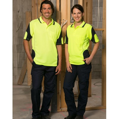 Picture of Alliance Short Sleeve Safety Polo - Unis