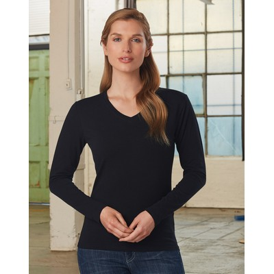 Picture of Ladies Stretch LSleeve Tee