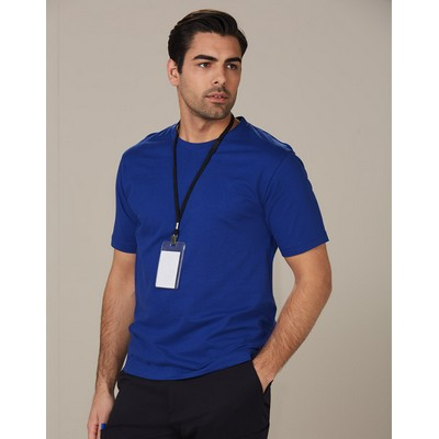 Picture of Mens Cotton Semi Fitted Tee Shirt