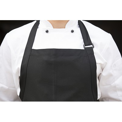 Picture of Large Black Bib Apron