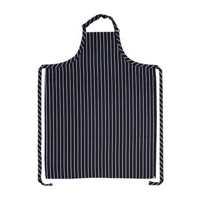 Picture of Large NavyWhite Stripe Bib Apron