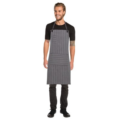 Picture of Brooklyn BlackGrey Bib Apron