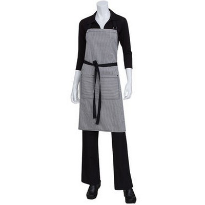 Picture of Portland Black Denim Bib Apron