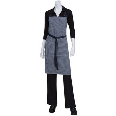 Picture of Portland Indigo Blue Denim Bib Apron