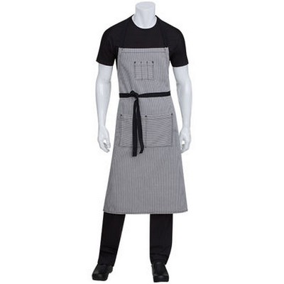 Picture of Portland Black Denim Adjustable Bib ApronAprons
