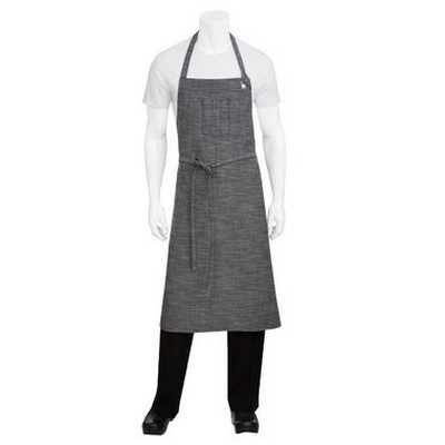 Picture of Corvallis Grey Large Bib Apron