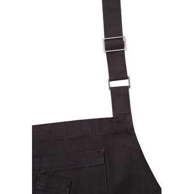 Picture of Rockford Steel Grey Bib Apron