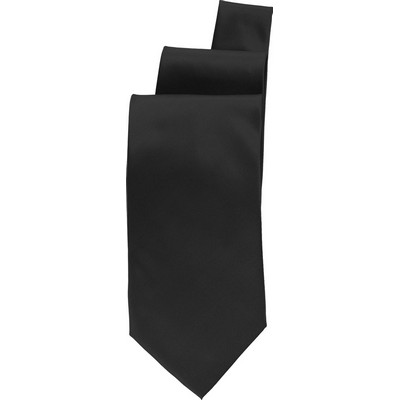 Picture of Black Satin Finish Tie