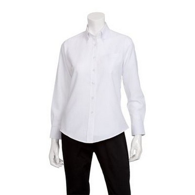 Picture of Womens White Oxford Shirt